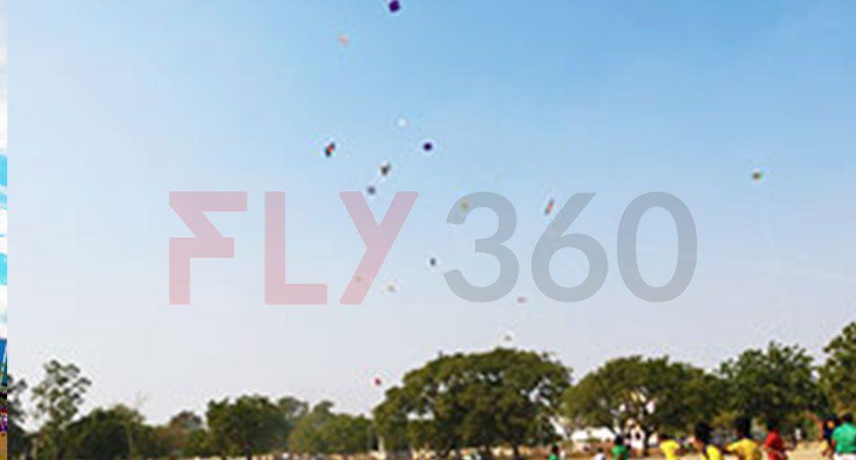 Variouse Kite Flying - Indian Kite Flying