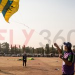 Man flying kite - Kite Flying Show & Event