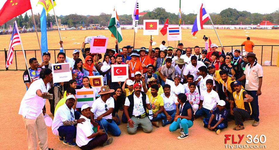 Team of International Kite Festival