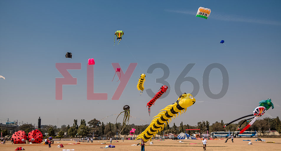 Mumbai Life Festival day kite