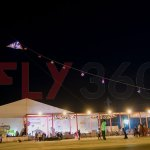 fly360 night kite flying