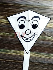 Final kite with face drawing - DUy FLY360