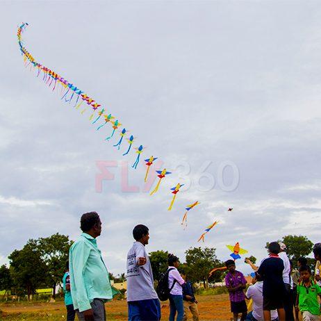 fly360 line kite