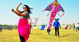 Delta kite - kite flying in celebrations