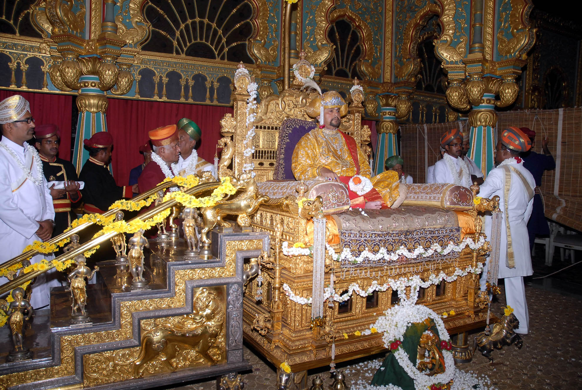 mysore royal family celebration