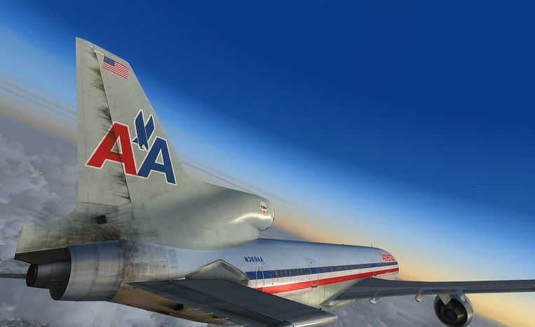 American Airlines Lockheed L 1011 TriStar N369AA For FSX