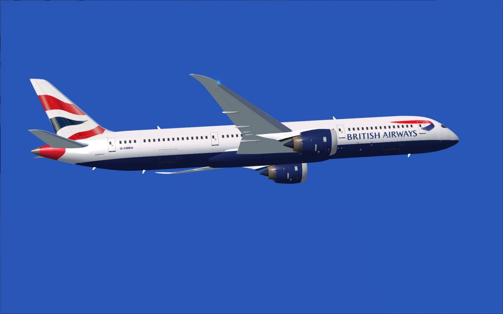 BA Boeing 787