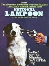 Si no compra esta revista, mataremos a este perro