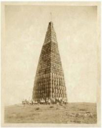 La ley seca: barriles de alcohol para quemar, 1924.
