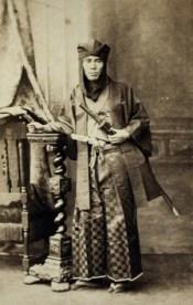Samurái, 1860-1880.