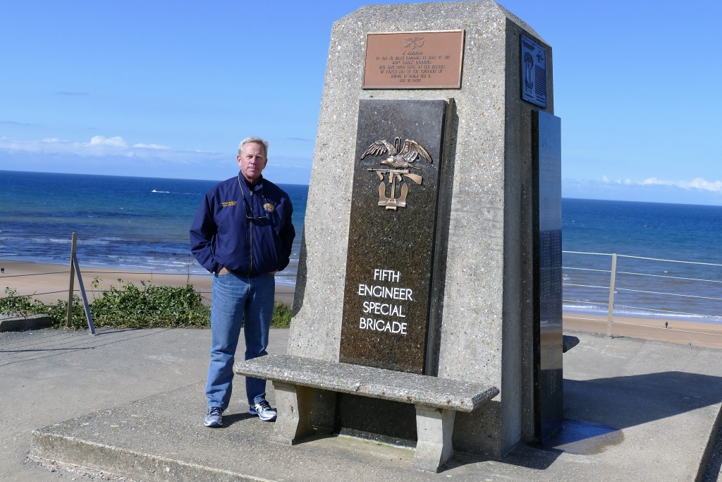 officer and former combat engineer this monument has special meaning