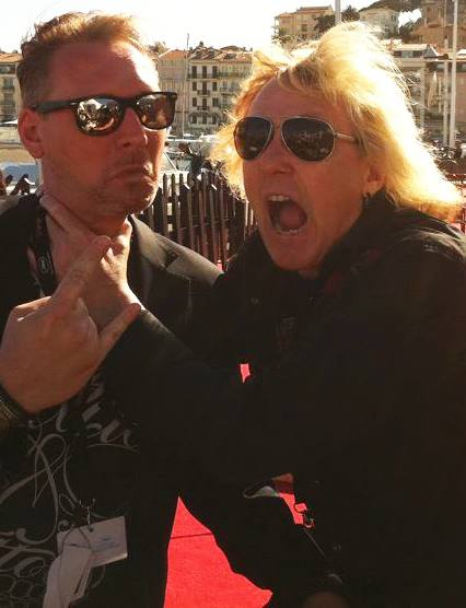 avec James Kottak (Scorpions)