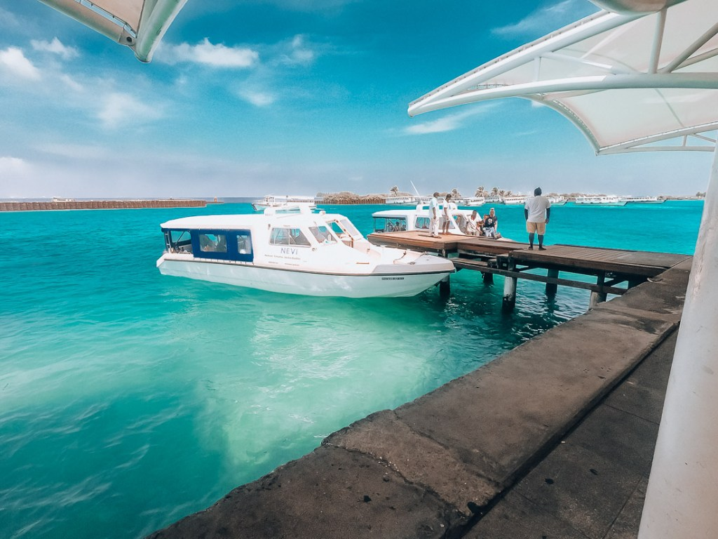 maldives on a budget ferry vs speedboat
