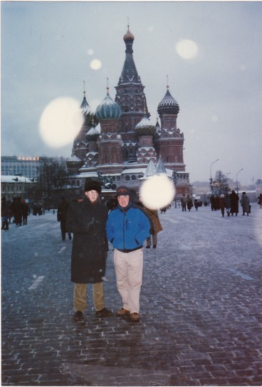 Red Square with Dad