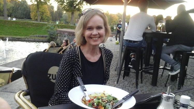 Dinner at Cafe Zuyd, Maastricht