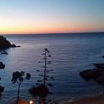 Sunset Bay in Spain