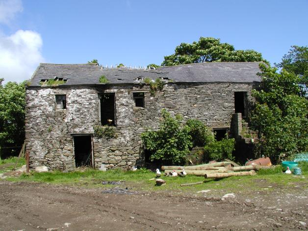 Ruins of Manx farmhouse