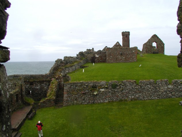 Peel Castle on St.Patricks island