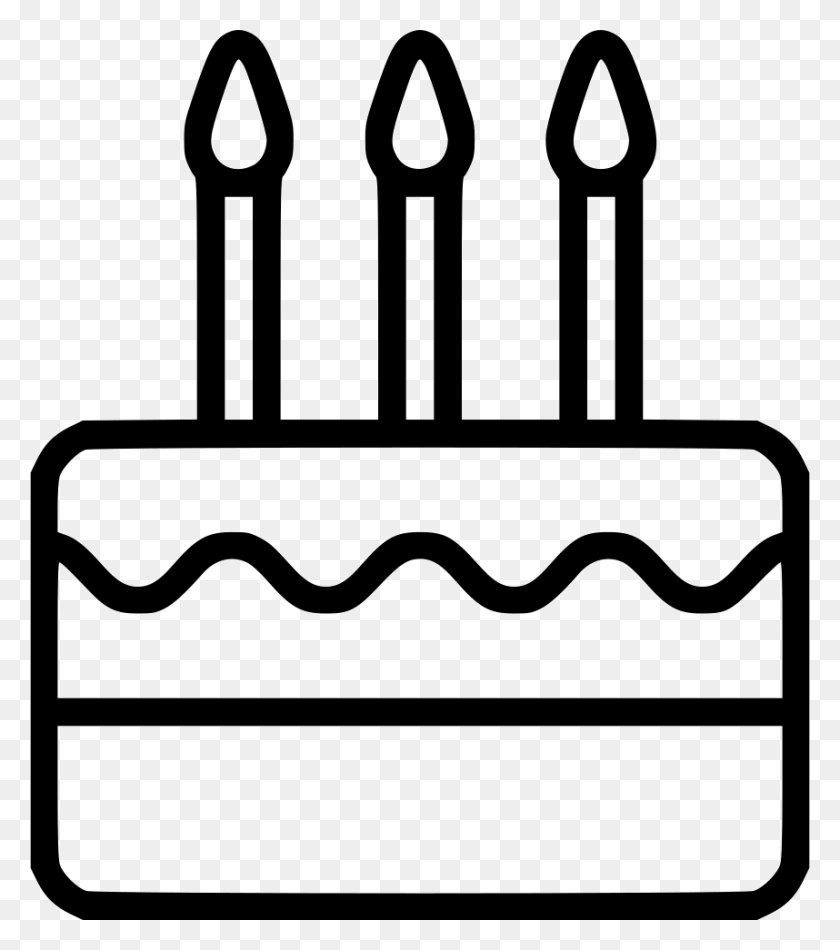 Birthday Cake Png Icon Free Download Birthday Cake Clipart Black And White Stunning Free Transparent Png Clipart Images Free Download