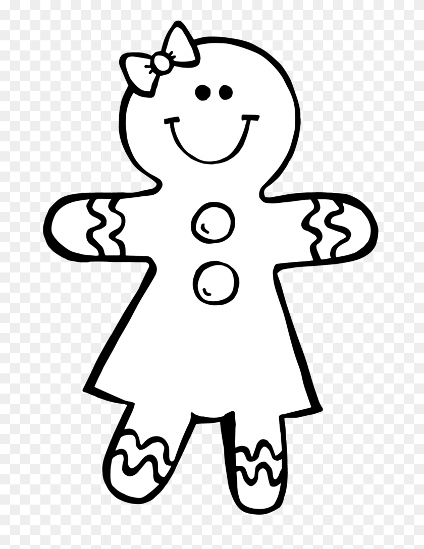Gingerbread Man Clipart Man Clipart Black And White Stunning Free Transparent Png Clipart Images Free Download