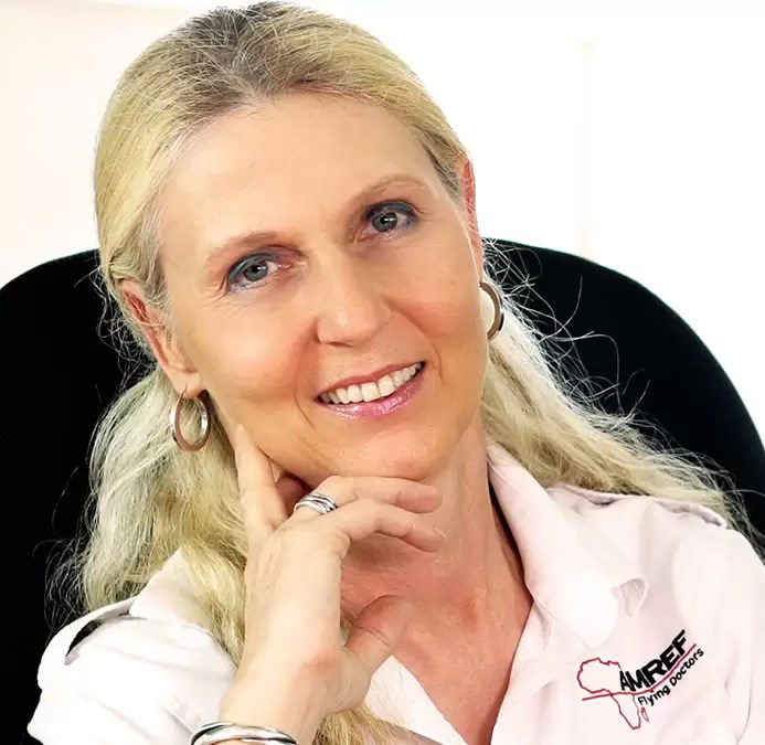 Dr Bettina Vadera AMREF Flying Doctors