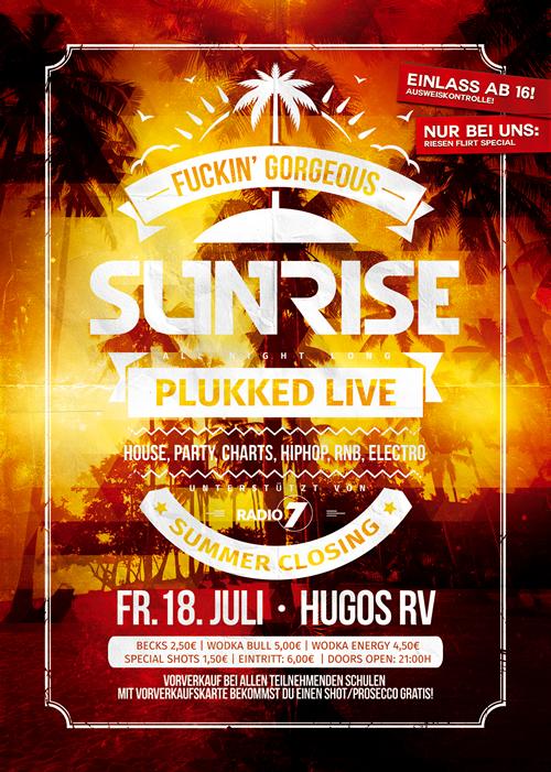 Sunrise 18.7.14 Hugo, Ravensburg