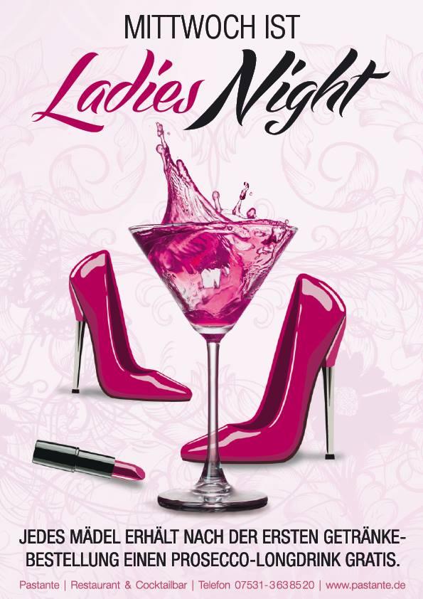 Ladies Night – jeden Mittwoch – Passante – Konstanz