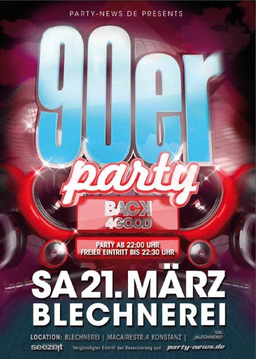 90er Party – Sa. 21.3.15 – Blechnerei – Konstanz