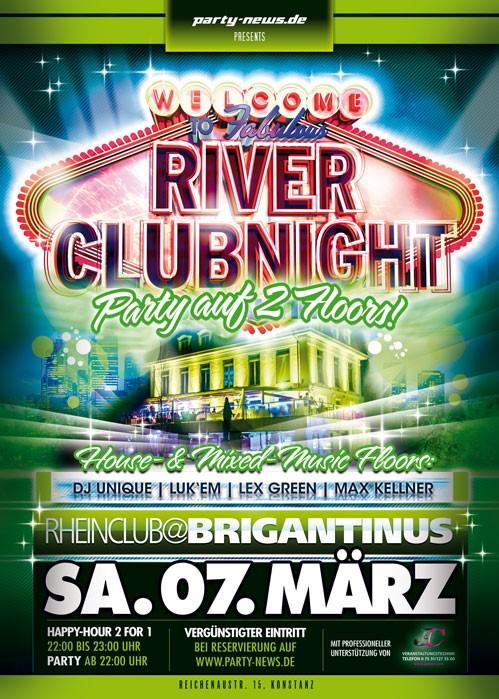 River Club Night – Sa. 7.3.15 – Brigantinus – Konstanz