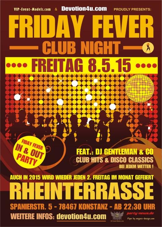 Friday Fever – Fr.8.5.15 – Rheinterrasse – Konstanz