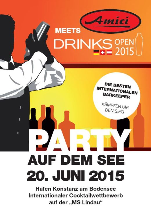 Amici Party – Auf dem See ! & Open Drinks 2015