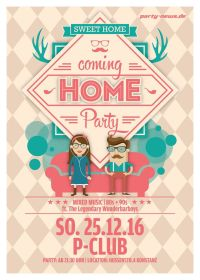 Coming Home Party – 25.12.16 – P-Club – Konstanz