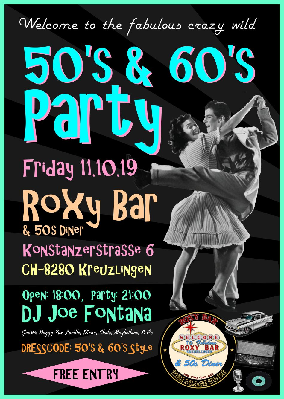 50's & 60's Party