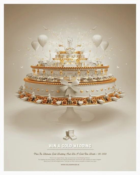 Win a Gold Wedding