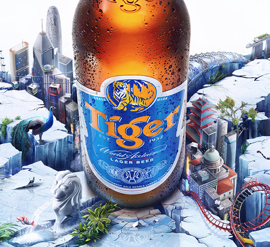 Tiger Beer Ad