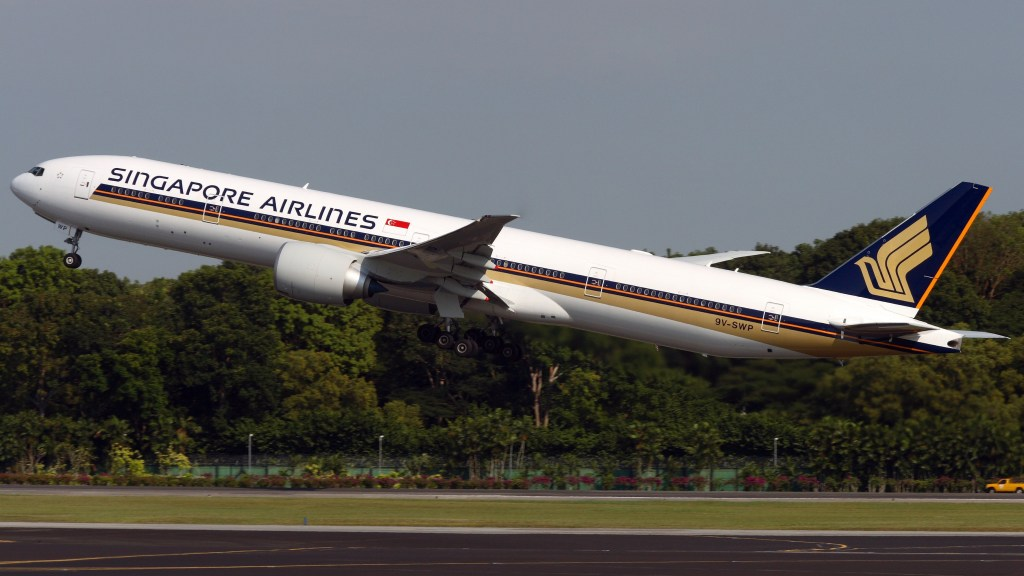 新加坡航空 波音777-300ER