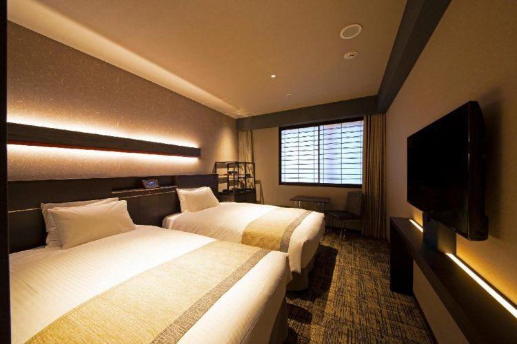 京都八條口京阪酒店 雙床房