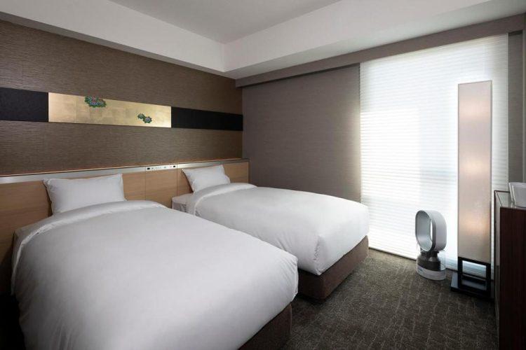 京都十字酒店 雙床房