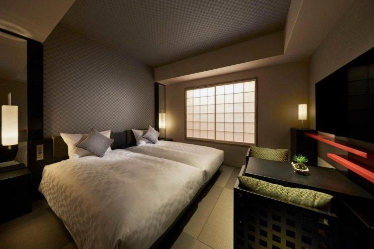 京都御池麩屋町Resol Trinity酒店 雙床房
