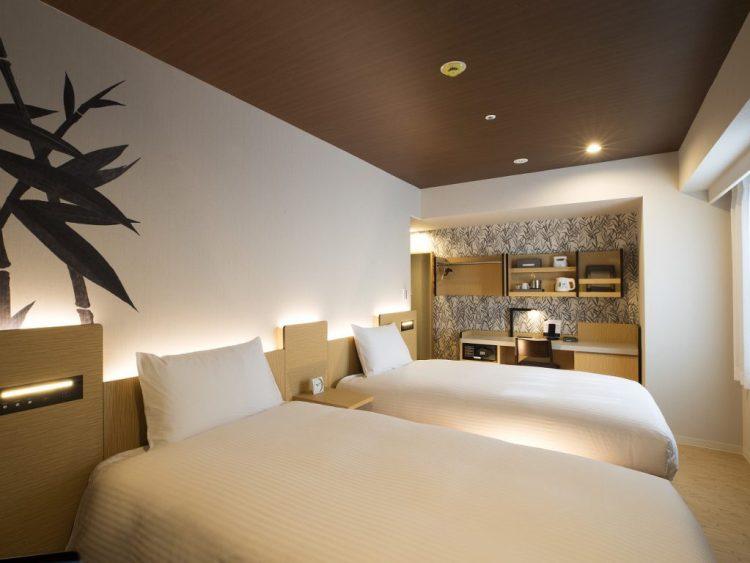 大和皇家酒店D-City - 名古屋伏見 雙床房