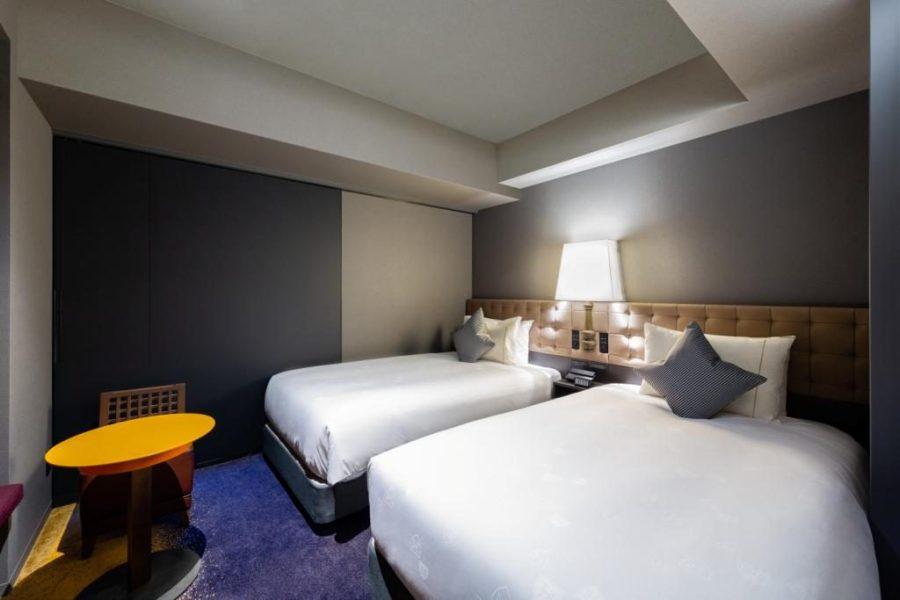 皇家花園 Canvas 銀座 8 雙床房