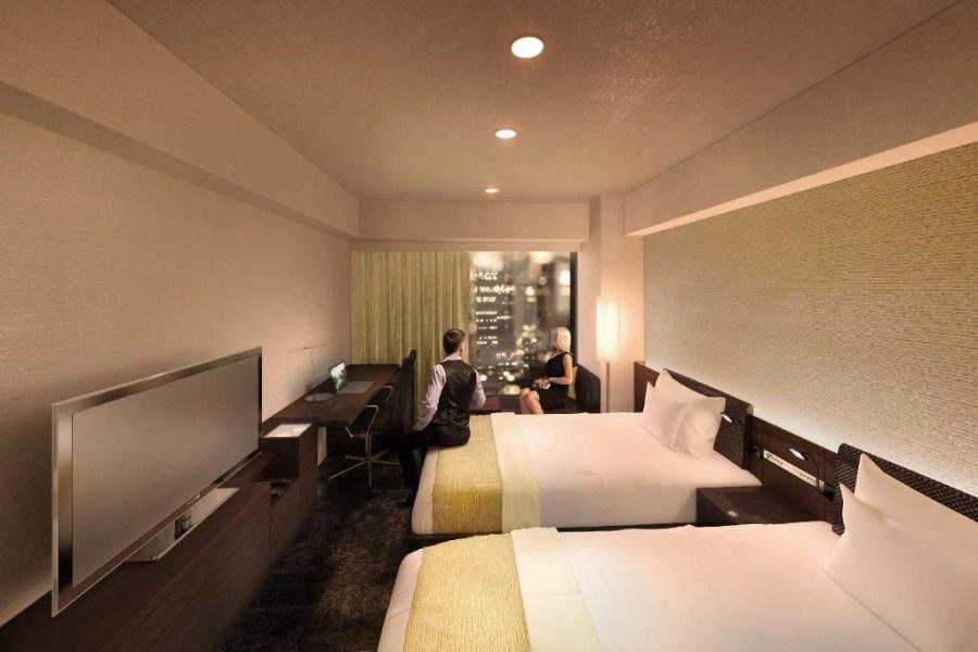 西新宿大和ROYNET酒店 雙床房