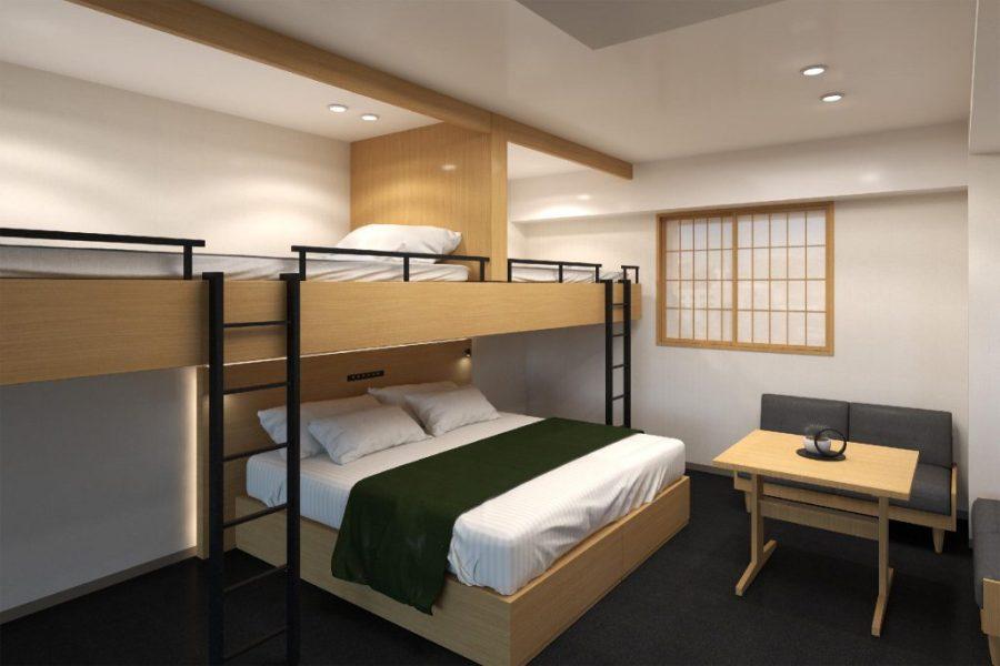 MIMARU東京八丁堀 豪華Loft公寓