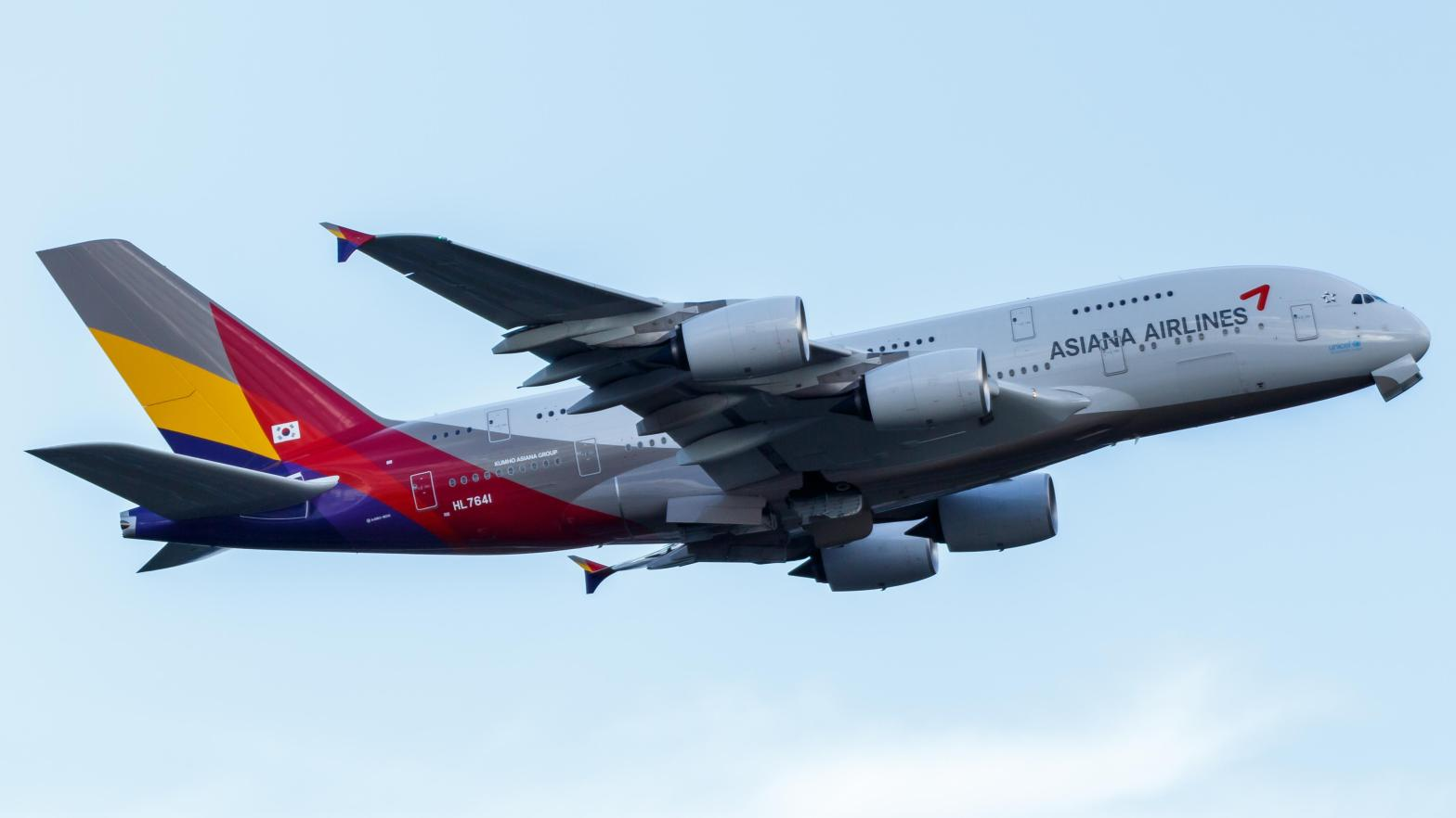 Asiana Airlines A380-800
