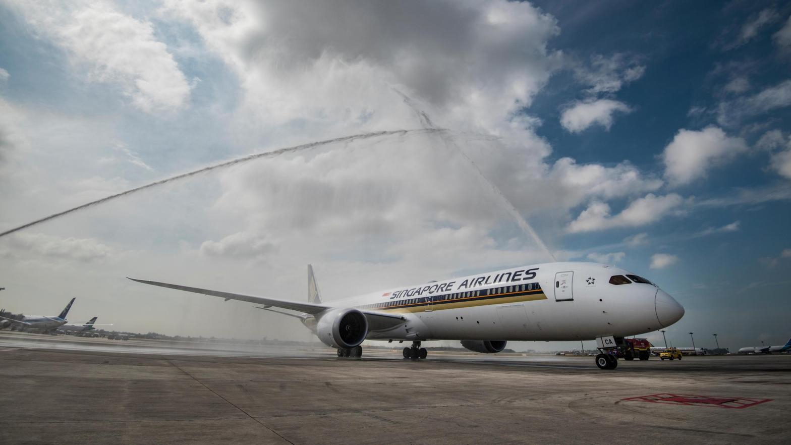 新加坡航空 波音787-10