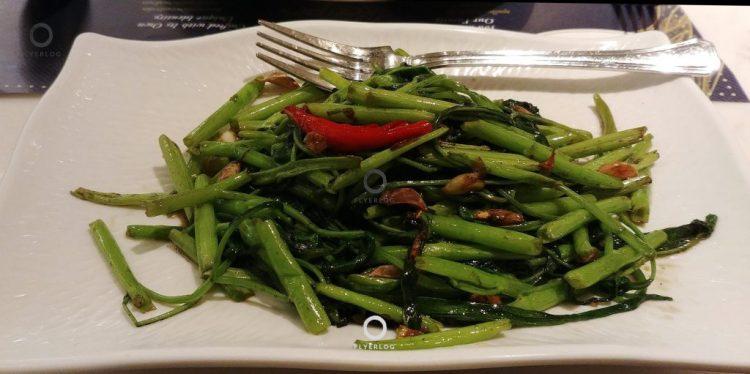 金雞泰國菜館-炒通菜