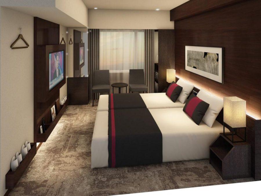 京都 S-Peria 酒店 雙床房