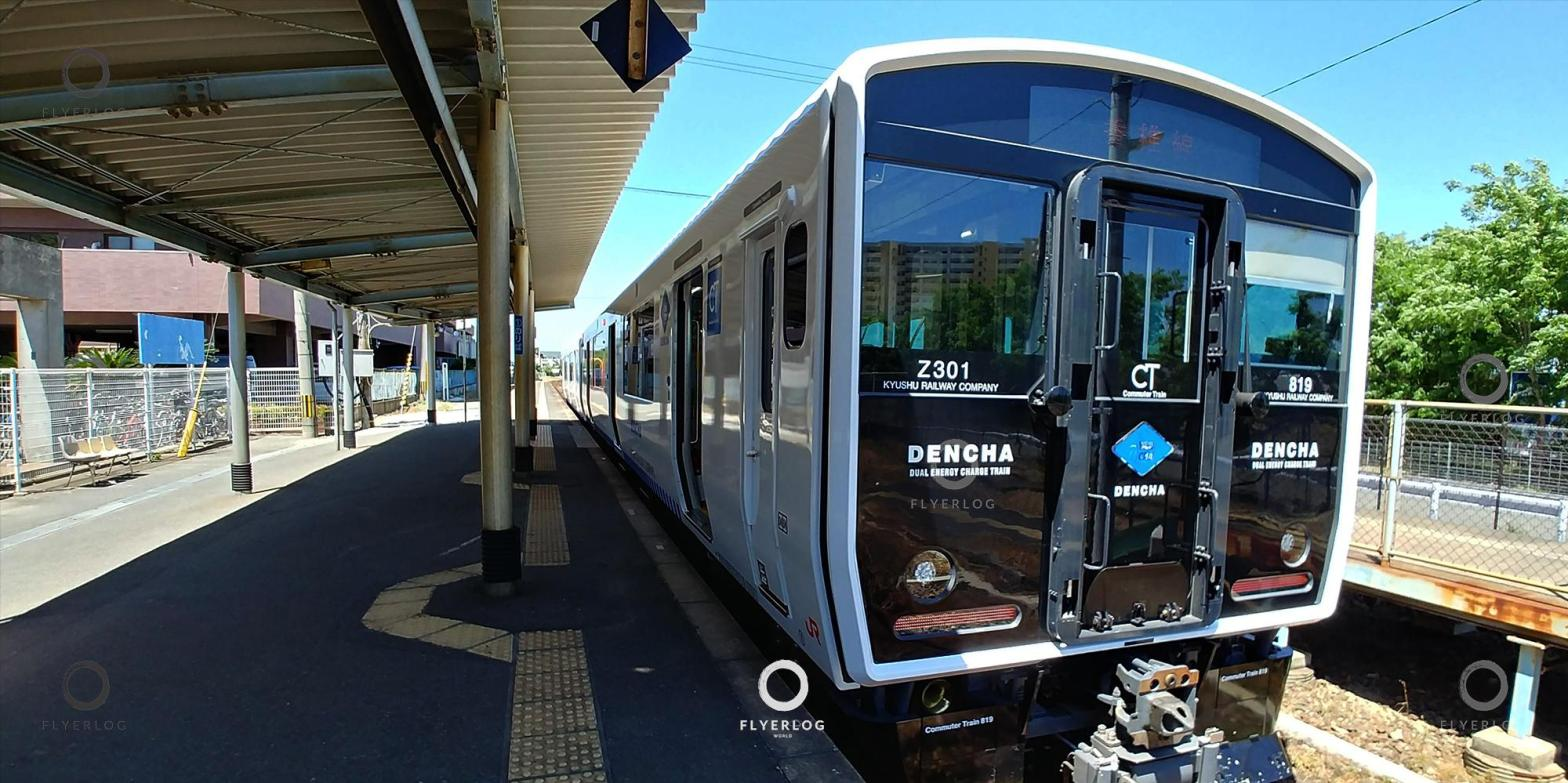 JR 香椎線 (海之中道線)-西戶崎站