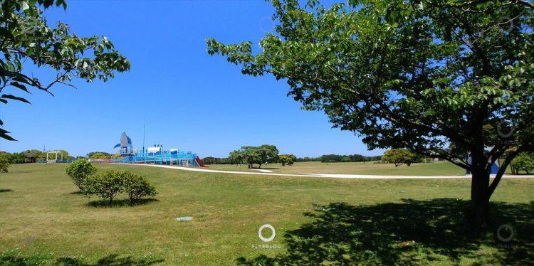 海之中道海濱公園 - 遠眺水上樂園