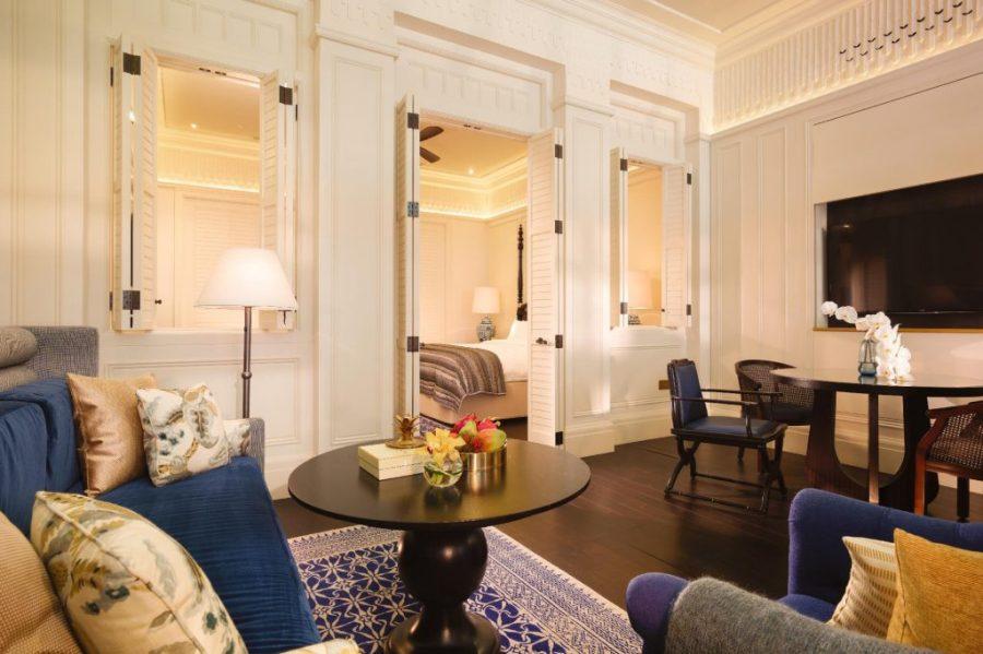 新加坡萊佛士酒店 棕櫚閣套房